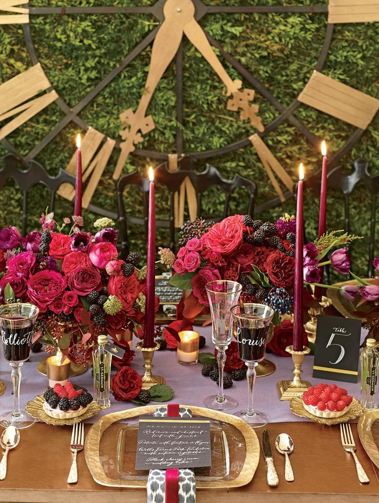 News yulita florist surabaya romance is redefined with this midnight garden wedding junglespirit Image collections
